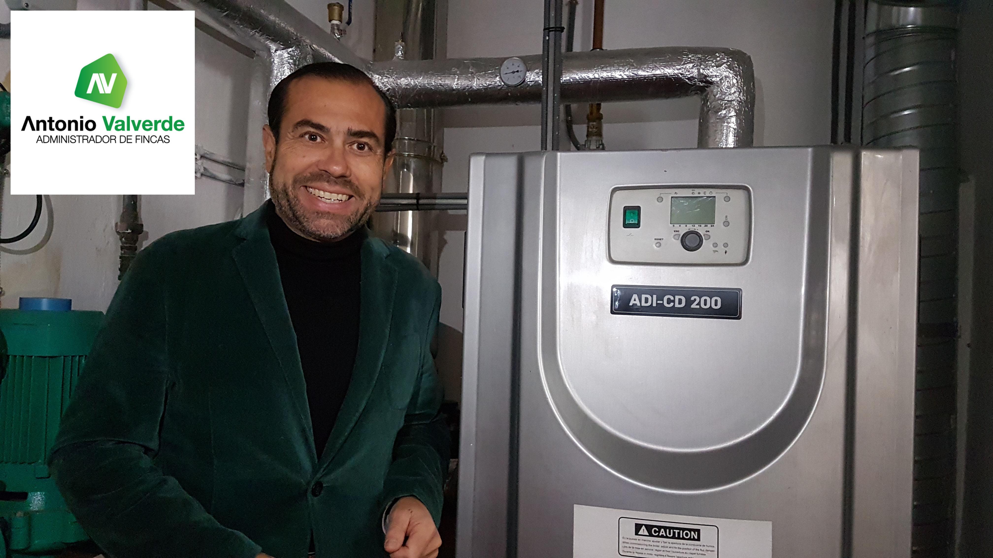 Subvención de calefacción comunidad de vecinos